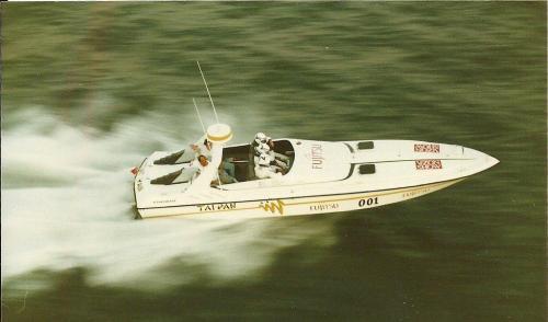 1991 Dünya Açıkdeniz Sürat Rekoru sahibi Taipan Finish-İskenderun