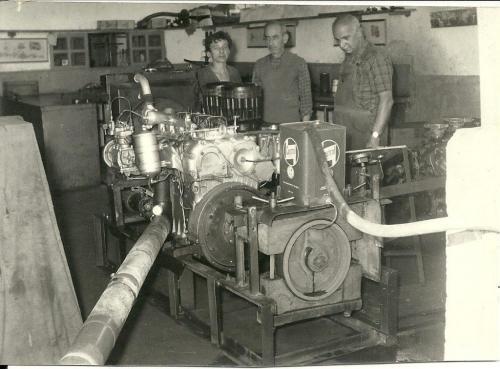 Büyükdere Tersanesi Hami Kaynak özel imalatı motor test ünitesi