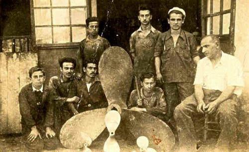 Büyükdere Tersanesinde Hami Kaynak-Orhan Çemberci