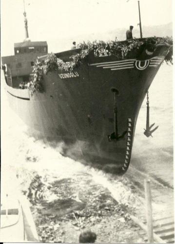 Beykoz Tersanesi 1970 Hakkı Uzunoğlu gemisi